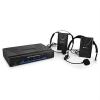 QTX Vezeték nélküli VHF mikrofon szett, 2 csatorna, 2 x headset