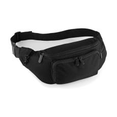 QUADRA Övtáska Quadra Deluxe Belt Bag - Egy méret, Fekete
