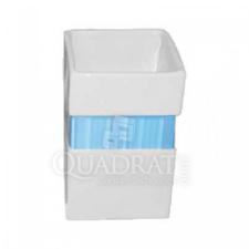 QUADRAT - Kerámia, LINE BLUE Family, fürdőszoba kiegészítő fürdőkellék