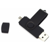 Quazar 2in1 smart pendrive 16GB (fekete) QZR-PE01-16-B