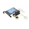 Quazar mobil lencse 4x makró - széles látószögű - halszem lencse szett beépített LED lámpával, arany