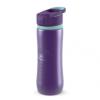 QUOKKA Spring - Aqua Violet sport kupakos rozsdamentes acél kulacs 600 ml 11824 QUOKKA