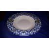 R2S Maiolica Blue porcelán mélytányér 21,5 cm,