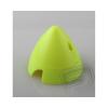 RA Fluoreszcens orrkúp, 70mm-es, SÁRGA, 2-lapátos