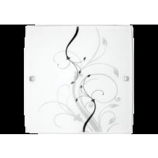 RÁBALUX Rábalux 3692 Elina Mennyezeti lámpa 30X30Cm E27 1X60W, fehér/fekete világítás