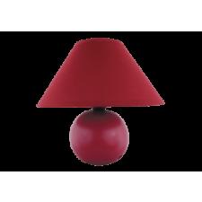 RÁBALUX Rábalux 4906 Ariel Kerámia asztali lámpa E14 Max40W, bordó világítás