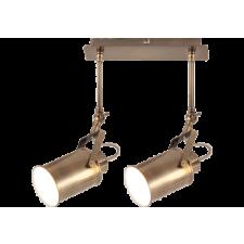 RÁBALUX Rábalux 5982 Peter, indusztriális stílusú szpot lámpa E27 2x MAX 60W antik bronz világítás