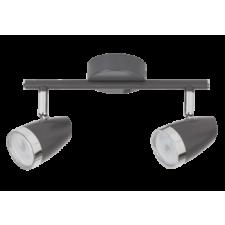 RÁBALUX Rábalux 6513 Karen, szpot lámpa beépített LED fényforrással LED 2x 4W antracit/ króm világítás