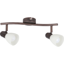 RÁBALUX Rábalux 6592 Soma Spot E14 2X40W, antik barna/krém világítás