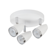 RÁBALUX Rábalux 6668 Karen, szpot lámpa beépített LED fényforrással LED 3x 4W fehér/ króm világítás