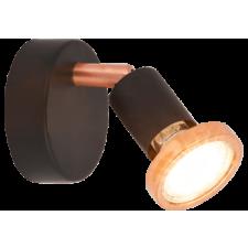 RÁBALUX Rábalux 6846 Valentine 1es spot Gu10 max50W m.fek/réz  LED 3W világítás