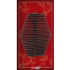Radeco DIAMANTES törölközőszárítós csődariátor, 990x700 mm