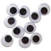 Ragasztható mozgó szemek 10 darabos készlet - 8 mm