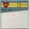 Ragasztókocka - 1,5mm mini - 3D Ragasztókocka 2,5 x 2,5 mm, holland