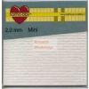 Ragasztókocka - 2mm mini - 3D Ragasztókocka 2,5 x 2,5 mm, holland