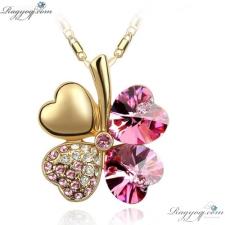 Ragyogj.com Arany szerencse - rózsaszín ajándéktárgy