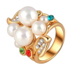Ragyogj.hu Álom-gyöngyök -  Swarovski kristályos divatgyűrű