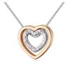 Ragyogj.hu Aphrodité- arany-ezüst - Swarovski kristályos nyaklánc