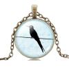Ragyogj.hu Birdy nyaklánc - bronz - 3.