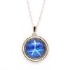 Ragyogj.hu Melegszívű Rák- nyaklánc a Rák csillagképpel - kis medál