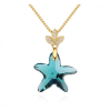 Ragyogj.hu Star- Swarovski kristályos ezüst nyaklánc