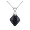 Ragyogj.hu Sugi - Swarovski kristályos nyaklánc - fekete