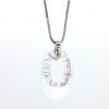 Ragyogj.hu - Swarovski Helios Swarovski medál - vastag vagy vékony nyaklánccal - Crystal White Patina
