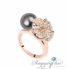 Ragyogj.hu - Swarovski Mira - Ezüstszürke - Swarovski kristályos - Gyűrű