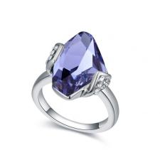 Ragyogj.hu - Swarovski Stone - lila-Swarovski kristályos-gyűrű gyűrű
