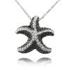 Ragyogj.hu Tengeri csillag - valódi gyémánttal ékesített nyakék