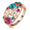 "Ragyogj.hu ""Virágos kert "" - Swarovski kristályos divatgyűrű"