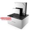 RaidSonic Icy Box 2x 2,5'/3,5' merevlemez dokkoló, SATA I/II/III, USB 3.0, JBOD, fehér