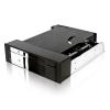 """RaidSonic ICY BOX Mobile Rack, IB-172SK-B, 1*2,5""""+ 1*3,5"""", SATA,"""