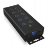 RaidSonic IcyBox 7x Port USB 3.0 HUB és 3 töltőport