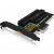 RaidSonic IcyBox PCIe extension card with M.2 M-Key socket f