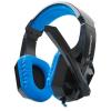 RAMPAGE SN-R3 Plus fejhallgató - Fekete-kék (22956)