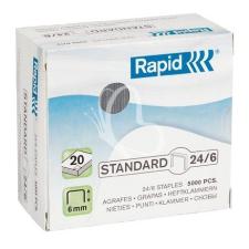 """Rapid Tűzőkapocs, 24/6, RAPID """"Standard"""" gemkapocs, tűzőkapocs"""
