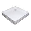 Ravak Kaskada Angela 80 PU négyzet alakú akril zuhanytálca (a004401120)