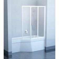 Ravak VS3 115 Fehér+Rain kádparaván kád, zuhanykabin