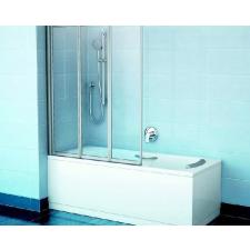 Ravak VS3 115 Szatén+Transparent kádparaván kád, zuhanykabin