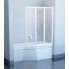 Ravak VS3 130 Fehér+Transparent kádparaván