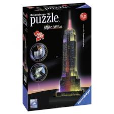 Ravensburger Empire State Building 216 darabos 3D LED puzzle 49 cm puzzle, kirakós