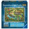 Ravensburger Kilépés a KIDS rejtvényből: Dzsungel 368 darab