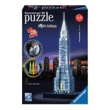 Ravensburger Puzzle 3D 216 db - Chrysler épület világító puzzle, kirakós