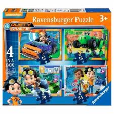 Ravensburger : Rusty rendbehozza  4 az 1-ben puzzle puzzle, kirakós