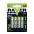 Raver alkáli elem R6 (ceruza, AA) 4db/bliszter