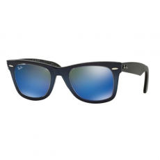 Ray-Ban RB2140 120368 WAYFARER TOP BLUE GRAD ON LIGHT B MIRROR BLUE napszemüveg