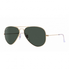 Ray-Ban RB3025 001/58 AVIATOR GOLD CRYSTAL GREEN POLARIZED napszemüveg