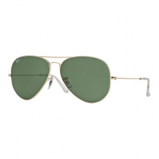 Ray-Ban RB3025 001 AVIATOR GOLD GREY GREEN napszemüveg