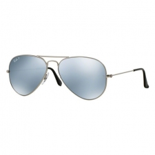Ray-Ban RB3025 019/W3 AVIATOR LARGE METAL MATTE SILVER SILVER MIRROR POLAR napszemüveg napszemüveg